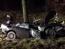 Groźny wypadek w Wierzbięcicach
