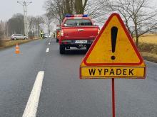 Obwodnica Grodkowa zablokowana. Trwa reanimacja poszkodowanego