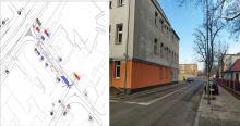<i>Ulica Sienkiewicza będzie jednokierunkowa na odcinku od Nysy Łużyckiej do Sądowej. Autobusy będą się zatrzymywały na pasie prowadzącym wzdłuż muru aresztu. Stanowska będą służyły do wsiadania i wysiadania z autobusów</i>