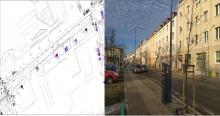 <i>Na ulicy 1go Maja zaplanowano jedno miejsce służące tylko do wysiadania z autobusów</i>