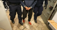 Imprezę urodzinową zakończył w areszcie