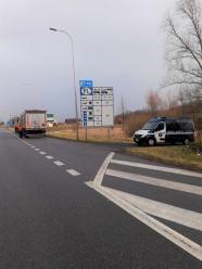 200 zł mandatu dla kierowcy i kara dla przewoźnika za jazdę z uszkodzonymi hamulcami