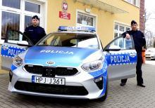 Nowy radiowóz dla policjantów z Głogówka