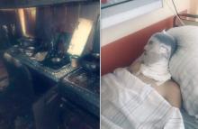 Czteroosobowa rodzina straciła cały dobytek podczas pożaru na Walecki. 22-latek w śpiączce