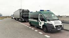 Kierujący świadczący międzynarodowy przewóz towaru jechał pijany