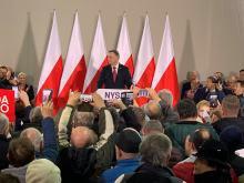 Andrzej Duda w Nysie. Prezydent podpisał ustawę dotyczącą koronawirusa