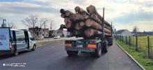 Przewoził drewno autem z usterkami i niesprawnym systemem oczyszczania spalin