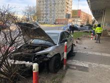 Nieuwaga kierowcy przyczyną porannej kolizji na rondzie w Opolu