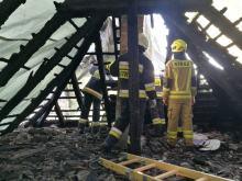 W wyniku pożaru dorobek życia straciło kilka rodzin z Suchego Boru