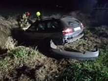 46-latka dachowała na trasie Lewin Brzeski - Magnuszowice