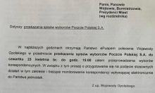 Prezydent Opola nie przekaże danych Opolan Poczcie Polskiej