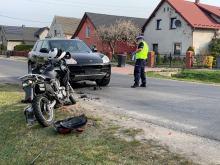 Rośnie liczba wypadków z udziałem motocyklistów. Niebezpieczne zdarzenie pod Brzegiem
