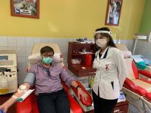 W Opolu pobrano osocze od pierwszego krwiodawcy - ozdrowieńca