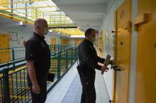 Dyrektor Zakładu Karnego w Kluczborku zatrzymał sprawcę kradzieży