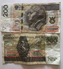 Za zakupy płacili fałszywymi banknotami