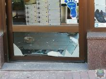 22-latek włamał się do sklepu obuwniczego