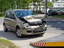 Zderzenie 3 pojazdów na Ozimskiej w Opolu. Sprawczyni w szpitalu
