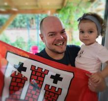 Po 47 dniach jest w domu! Kardiolog z Kluczborka pokonał koronawirusa