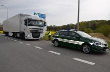 Transport międzynarodowy pod czujnym okiem funkcjonariuszy opolskiej KAS