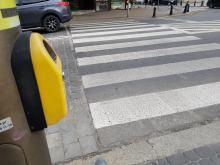 Wzbudzane przejścia dla pieszych w Opolu znów funkcjonują