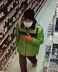 Policjanci poszukują mężczyznę podejrzanego o kradzież