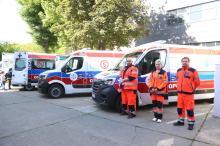 Trzy nowe karetki trafiły do Opolskiego Centrum Ratownictwa Medycznego