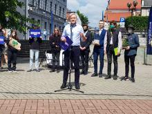"""Robert Biedroń w Opolu: """"Duda oddaj moje 500 złotych"""""""
