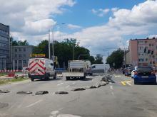 Zmiany na skrzyżowaniu ulic Oleskiej, Boh. Monte Casino i Batalionów Chłopskich