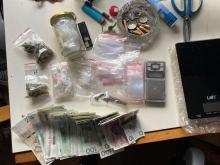 Pięciu mężczyzn zatrzymanych do spraw narkotykowych