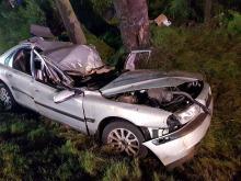 Wypadek na drodze krajowej nr 11 w powiecie kluczborskim