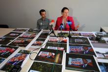 Kto niszczy banery wyborcze dwóch głównych kandydatów na prezydenta RP?