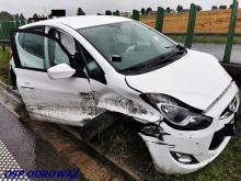 Niebezpiecznie na drogach na Opolszczyźnie. Kilka zdarzeń w ciągu 2 godzin
