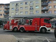 Zadymienie w mieszkaniu na Bielskiej w Opolu. Lokatorzy zostawili garnek na ogniu