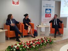 Prezydent Gdańska oraz prezydent Sopotu w Krapkowicach. Spotkali się ze społecznością lokalną