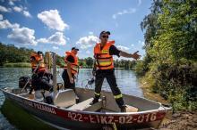 Strażackie manewry z ratownictwa wodnego w Kędzierzynie-Koźlu
