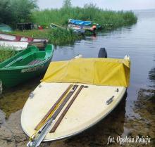 Zdemolowali łodzie zacumowane przy Jeziorze Dużym w Turawie