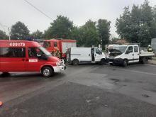 Wypadek w Lewinie Brzeskim. Są ranni