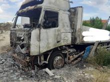3 samochody ciężarowe spłonęły w Lewinie Brzeskim
