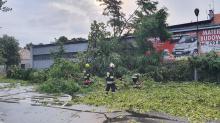 Ostrzeżenia I i II stopnia w związku z burzami na Opolszczyźnie