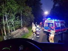 Groźny wypadek na trasie Zawadzkie - Strzelce Opolskie