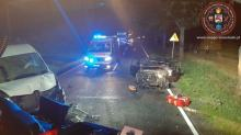3 osoby poszkodowane w wypadku w Gorzowie Śląskim