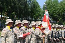 Święto Wojska Polskie w 10 Opolskiej Brygadzie Logistycznej