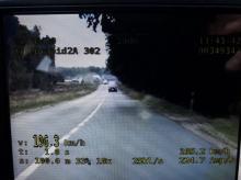 22-latek pędził blisko 200 km/h