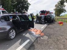 Wypadek w powiecie nyskim. Wśród 6 rannych jest dwójka dzieci