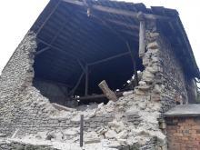 W Suchodańcu zawaliła się stodoła