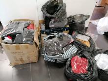 Zabezpieczyli podrobioną odzież o wartości 350 tysięcy złotych