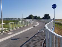 Przeprawa pieszo-rowerowa przez Kanał Ulgi otwarta!