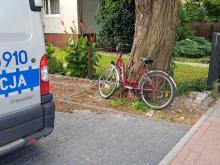 Potrącenie rowerzystki na ulicy Niemodlińskiej w Opolu