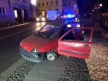 Jazda pijanego kierowcy zakończona na Piastowskiej w Opolu