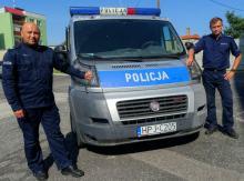 Policjanci pomogli kobiecie z zawałem serca